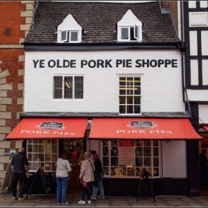 Melton Mowbray- Ye Olde Porke Pie Shoppe