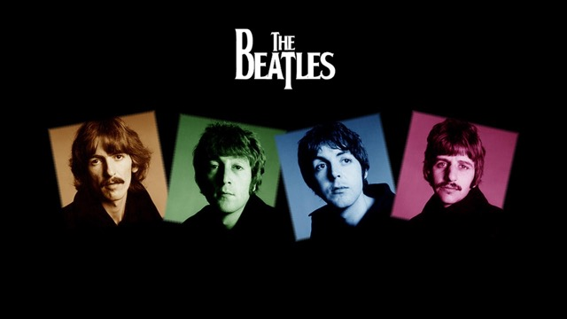 the beatles - in colour