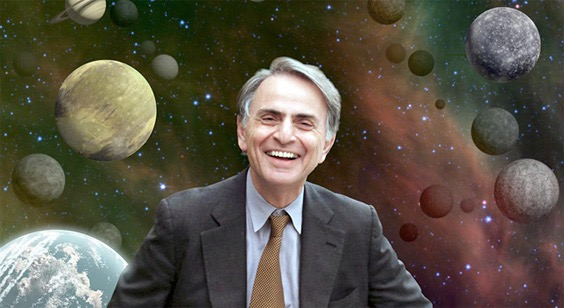 A Glorious Dawn - Carl Sagan