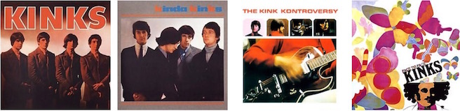 The Kinks - albums 1 to 4