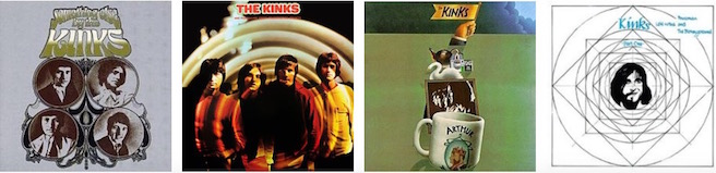 The Kinks - albums 5 to 8