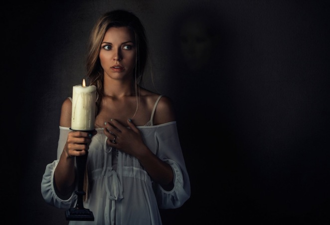 Lady Rachel - with candle