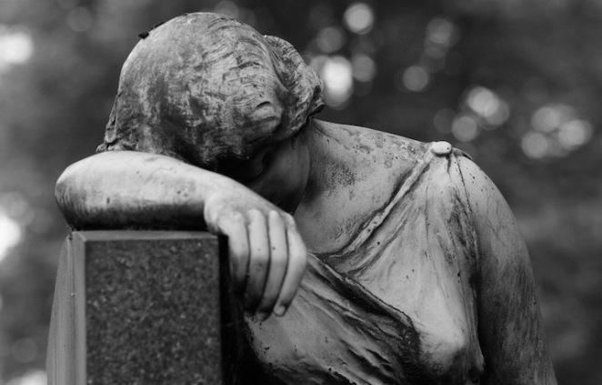 Maria Browne - mourning