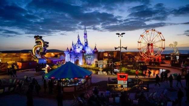 The Fairground - dismaland