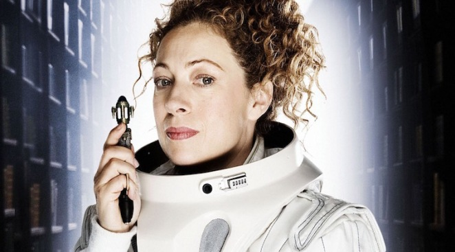 River Song - in suit