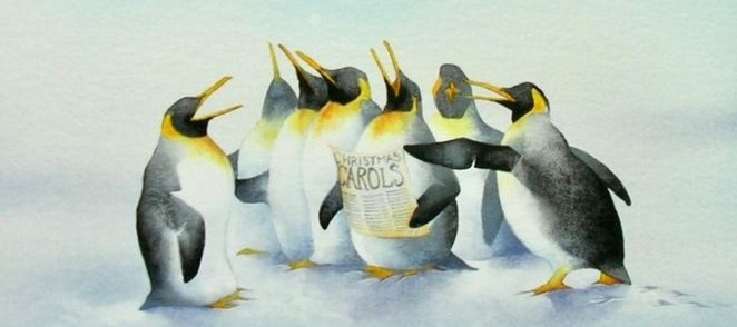 penguin choir