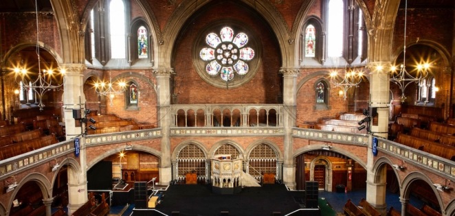 union chapel, empty