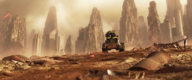 WALL-E Wasteland