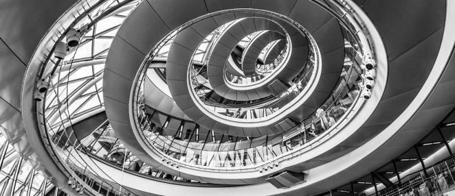 spiral building